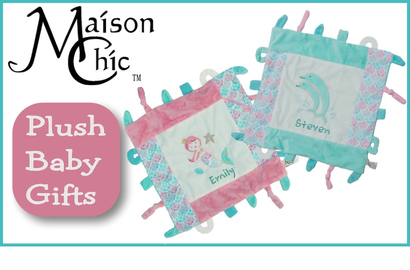 Personalized Taggies Blankies and Toys